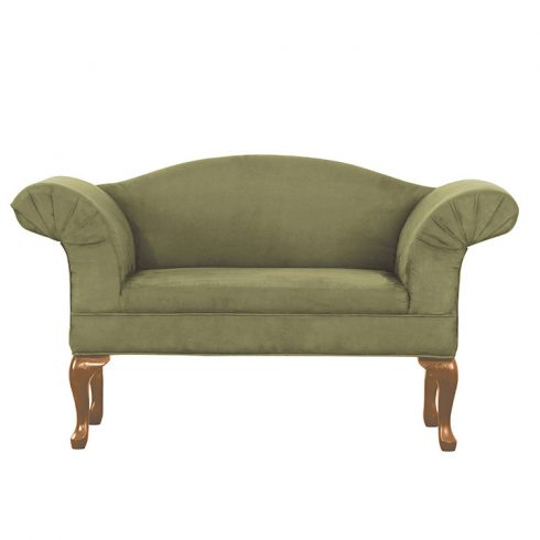 kanapé, zöld/tölgy arany, FABRICIO