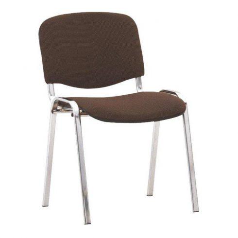Konferencia szék, barna, ISO