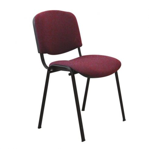 Konferencia szék, bordó, ISO NEW