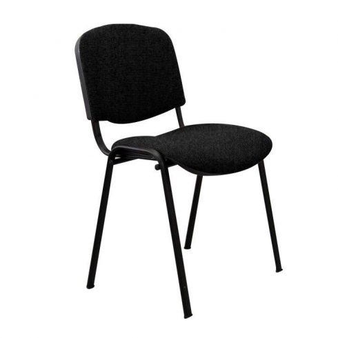 Konferencia szék, fekete, ISO NEW