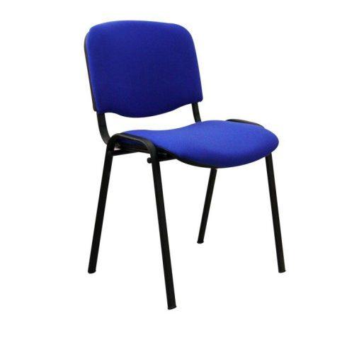 Konferencia szék, kék, ISO NEW